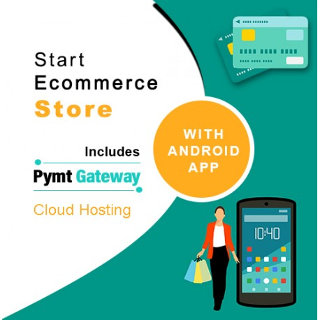 E-Commerce Website with App and Unlimited Cloud Hosting