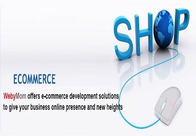 WebyMom E-commerce Website Design