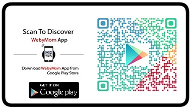 Download WebyMom App  from  Google Play Store