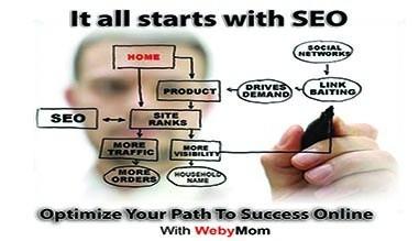 WebyMom Search Engine Optimisation